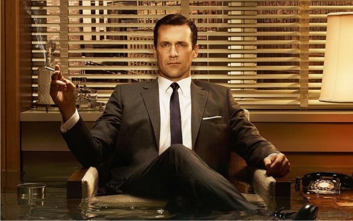 Escena de Mad Men. Imagen: AMC.