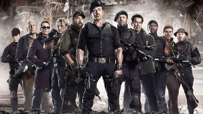 Los Mercenarios. Imagen: Millennium Films.