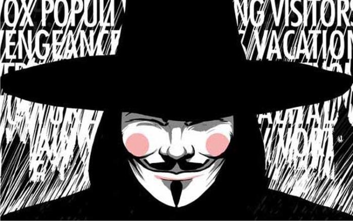 V de Vendetta. Imagen: Planeta de Agostini.