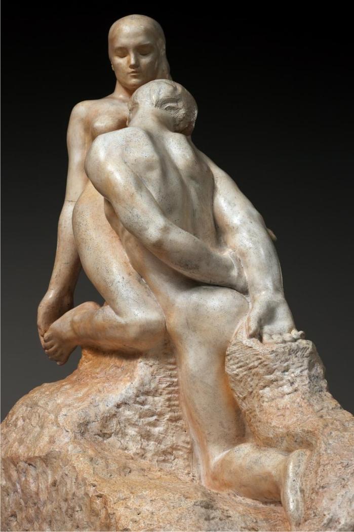 El ídolo eterno, de Rodin. (DP)