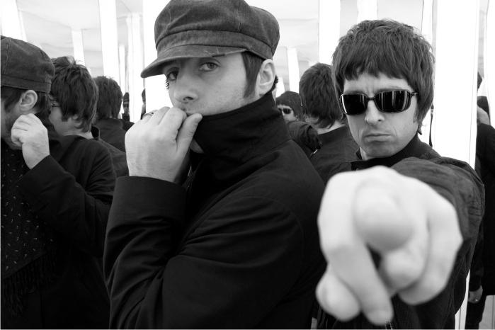 Liam y Noel Gallagher Imagen: Sony BMG.