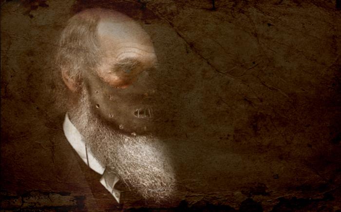 Charles Darwin. Ilustración Emiliano Bruner