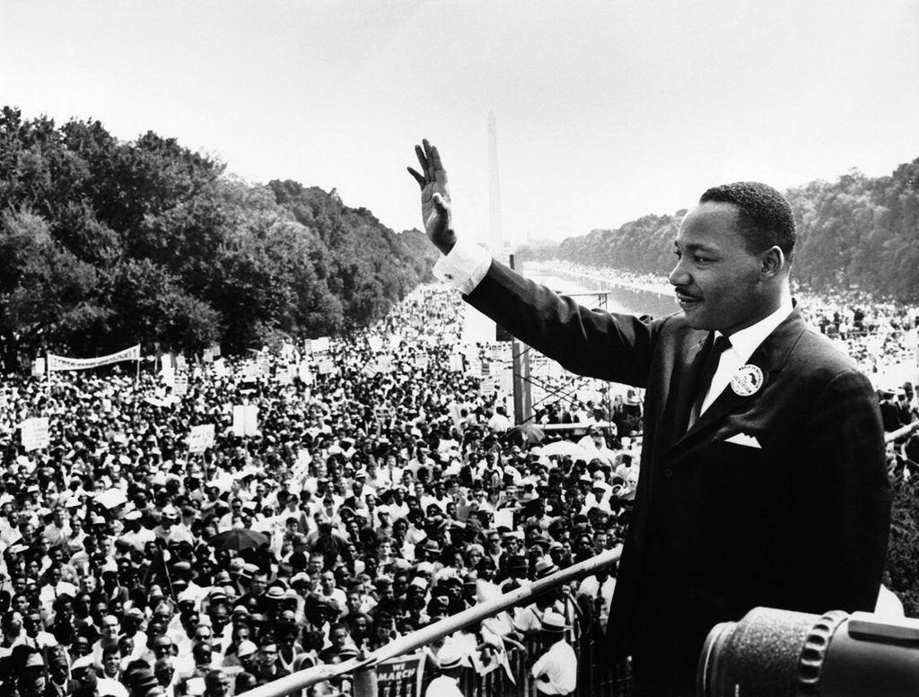 Martin Luther King Jr, 1963. Fotografía: (DP)