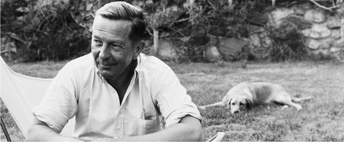 John Cheever. Foto: Getty.
