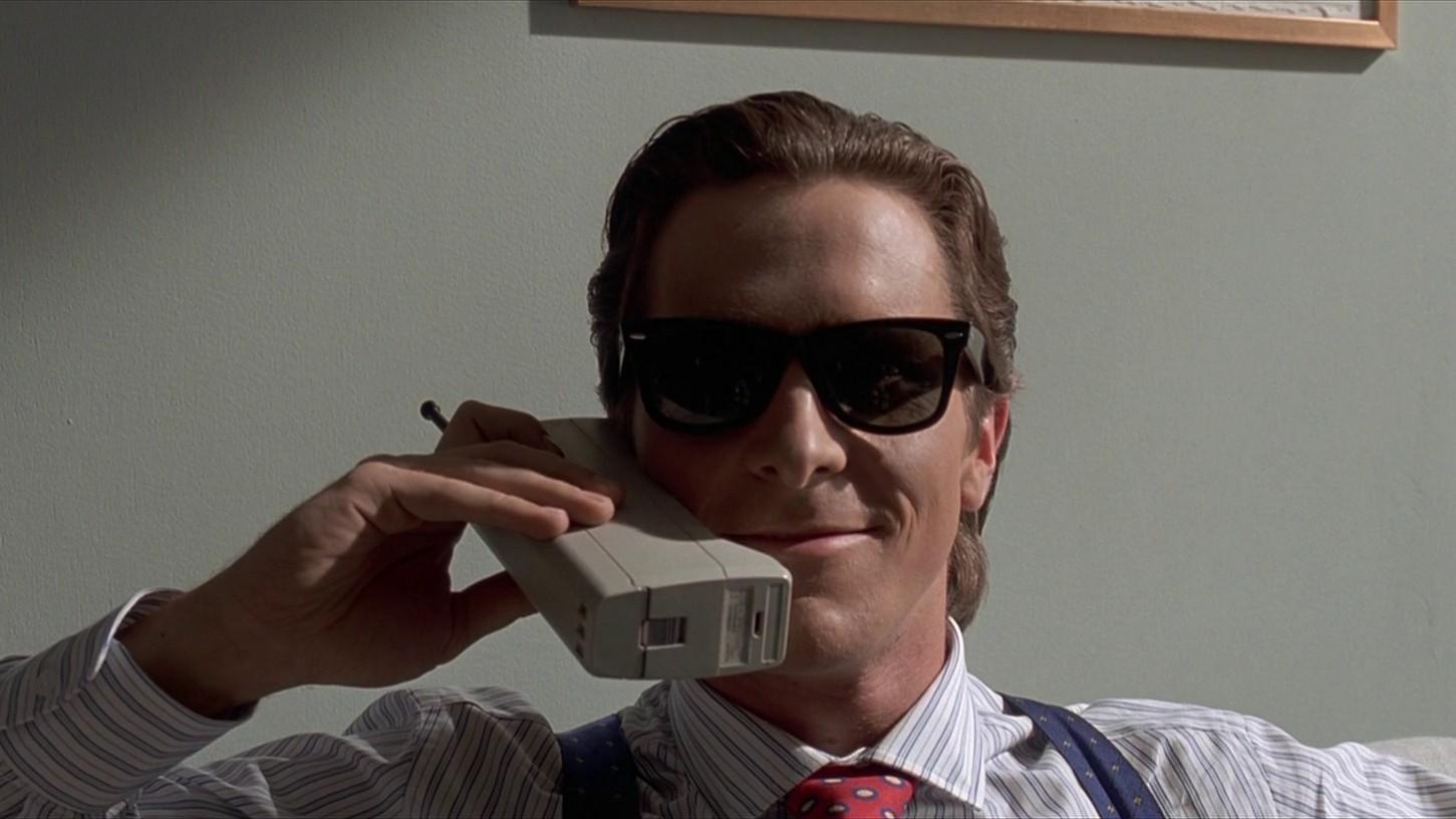 American Psycho (2000). Imagen: Columbia TriStar Films.