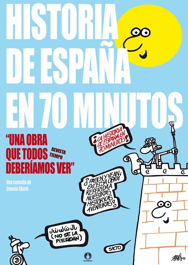 La HIST. en 70 min poster print