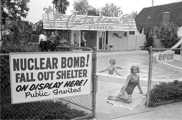 Exposición de un refugio antinuclear. Foto: DP.