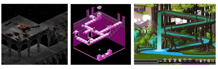 Diablo II (2000). Solstice (1990). AdventureQuest worlds (2008).