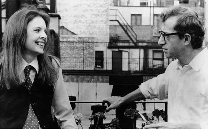Diane Keaton y Woody Allen en Annie Hall. Imagen: United Artists.