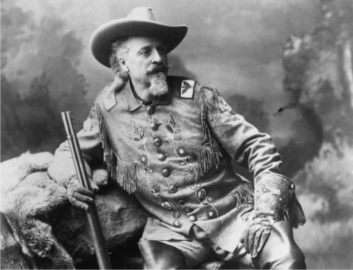 Buffalo Bill en 1903. Foto: DP.