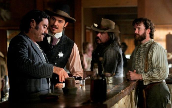Escena de Deadwood. Imagen: HBO.