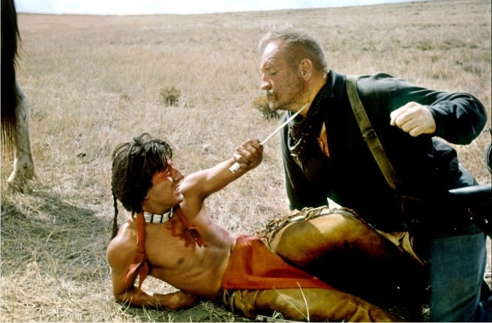 Escena de Pequeño Gran Hombre. Imagen: 20th Century Fox.