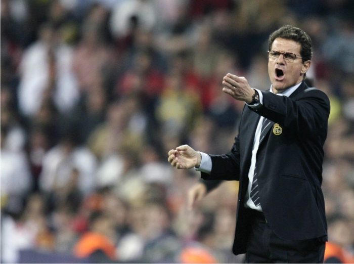 Fabio Capello. Foto: Cordon Press.