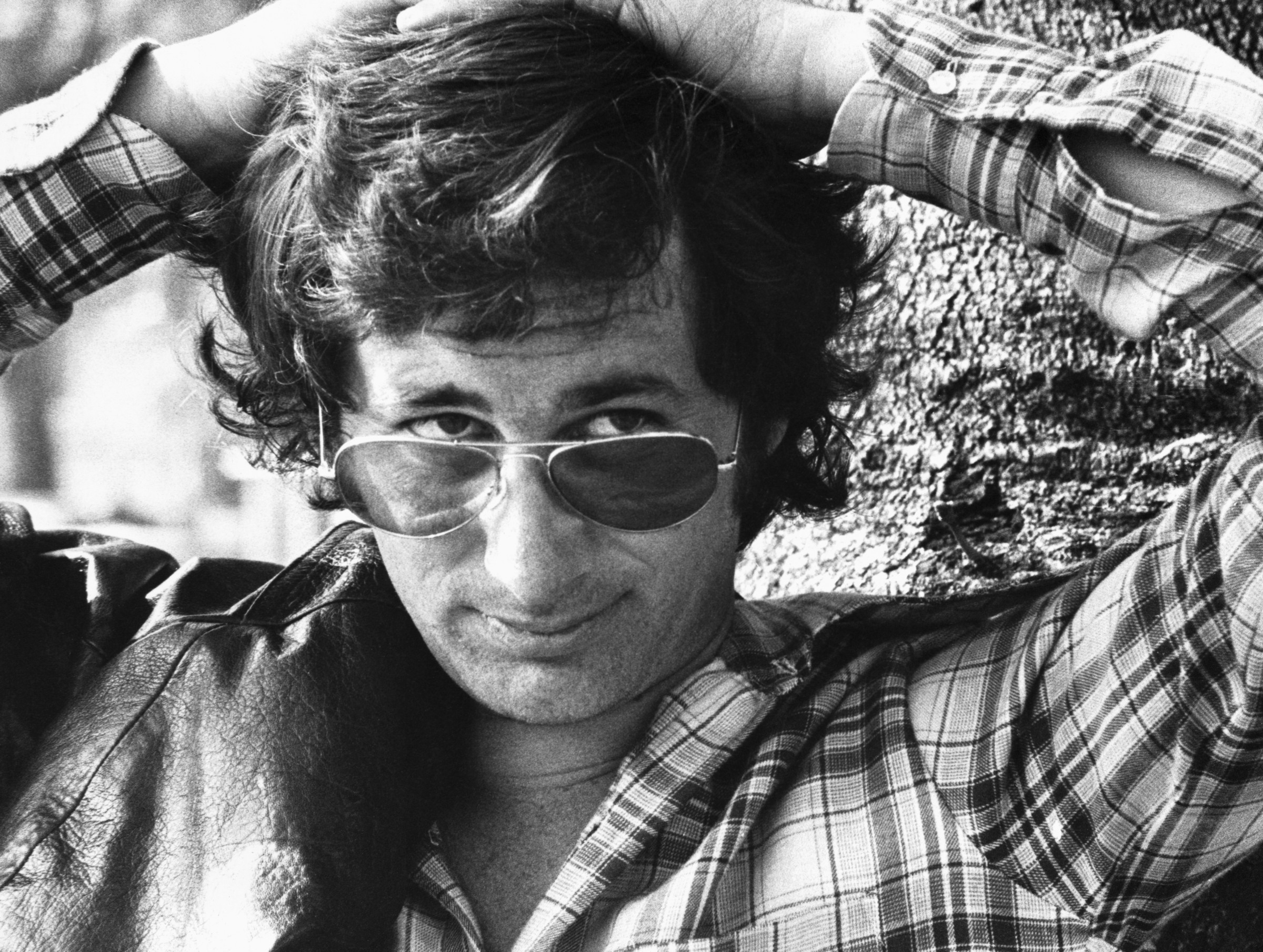 1973, London, England, UK --- Film Director Stephen Spielberg, 1973 --- Image by © Hulton-Deutsch Collection/CORBIS