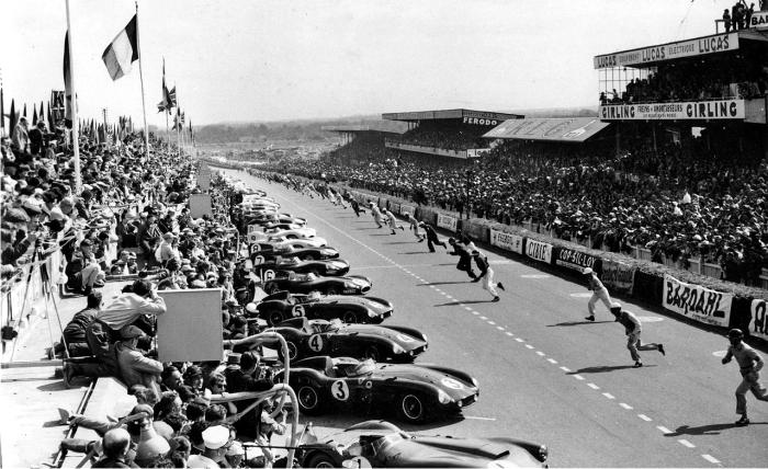 La famosa «salida Le Mans». Foto: DP.