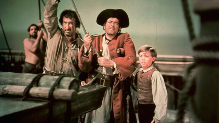 La isla del tesoro. Imagen Walt Disney Productions.
