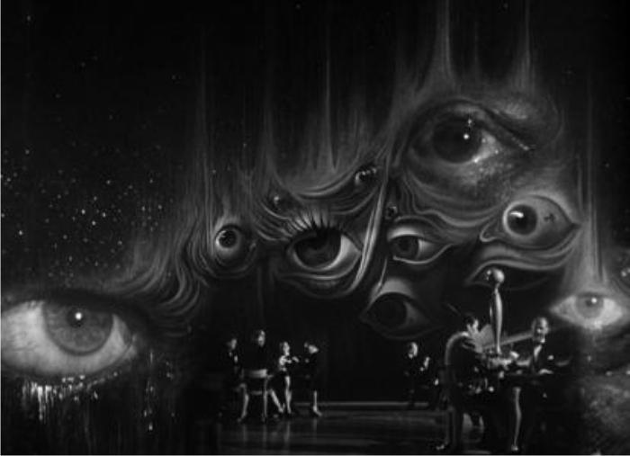 Colaboración de Dalí con Hitchcock en Recuerda. Imagen de Selznick International Pictures.