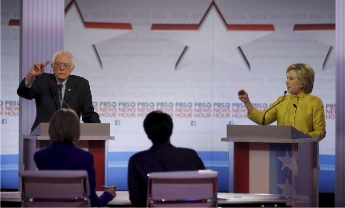 Bernie Sanders y Hillary Clinton. Foto: Cordon Press.