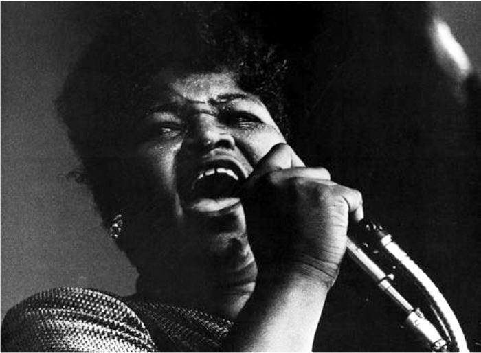 Big Mama Thornton. Imagen: Arhoolie Records.