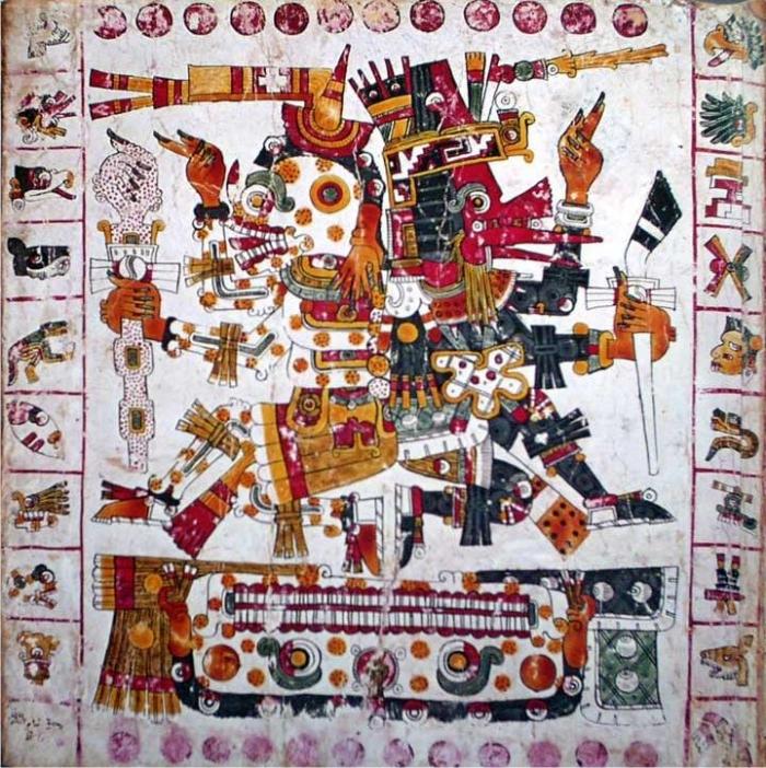 Imagen del códice Borgia. (DP)