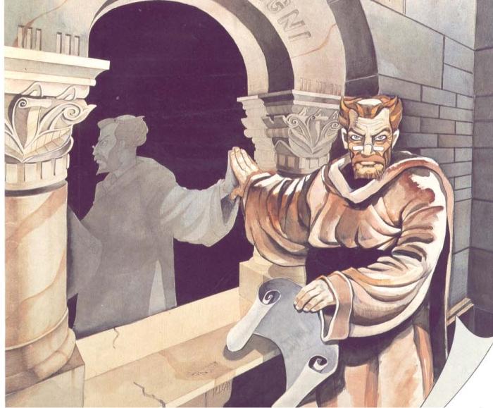 Carátula de La abadía del crimen. Imagen: Opera Soft.