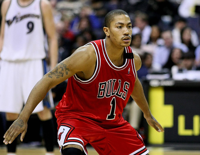 Derrick Rose. Foto: Keith Allison (CC)