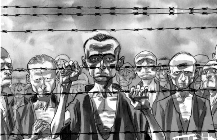 El hombre que descubrió el Holocausto. Imagen: Norma Editorial.