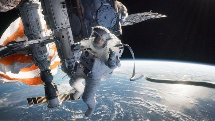 Gravity. Imagen Warner Bros. Pictures.