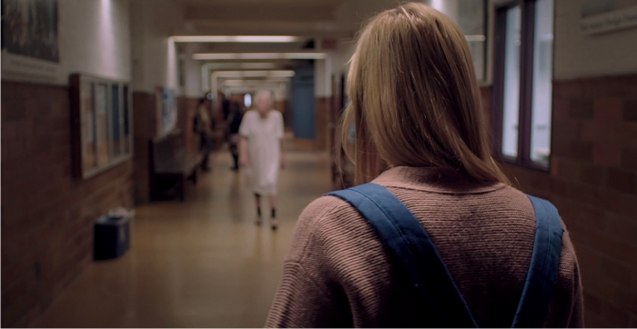 Escena de It Follows. Imagen: Northern Lights Films.