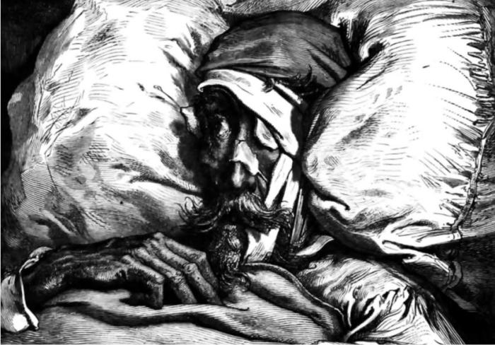 Grabado para el Quijote de Gustave Doré.