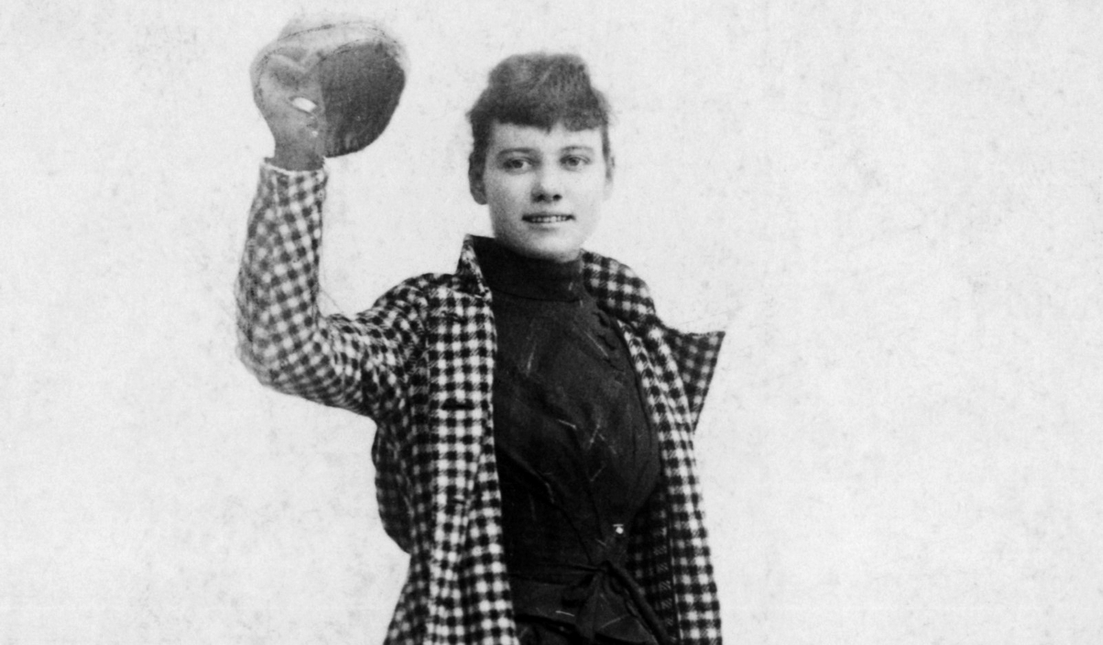 1888 --- Famous world traveler and journalist Nellie Bly, nee Elizabeth Cochrane Seaman, who circled the globe in 72 days, 6 hours, and 11 minutes in 1889 - 1890. --- Image by © AS400 DB/Corbis