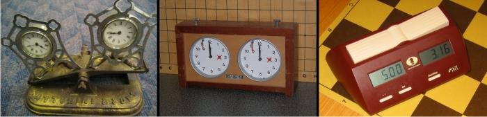 Evolución de los relojes de ajedrez, guardianes del tiempo. (DP)