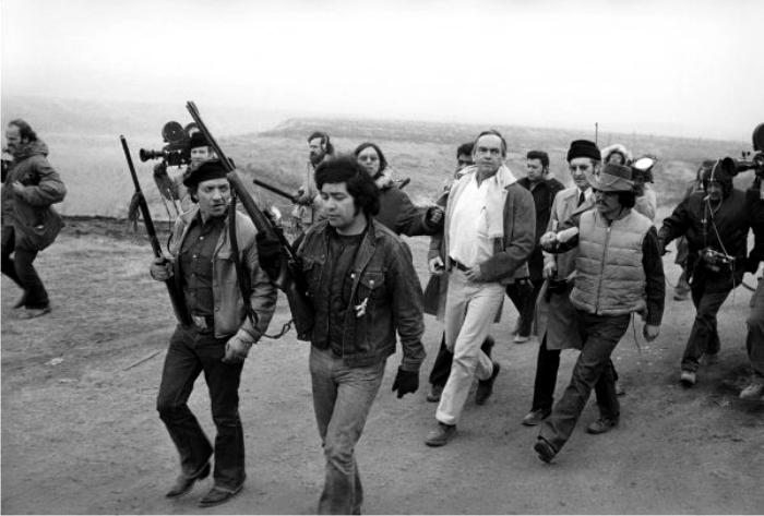 Sitio de Wounded Knee. Foto: Corbis.