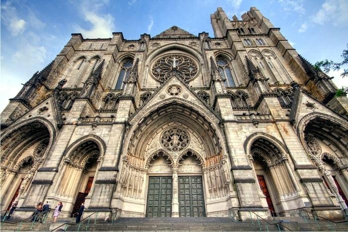 Catedral de St John, Nueva York. Foto: Kripaks (CC)