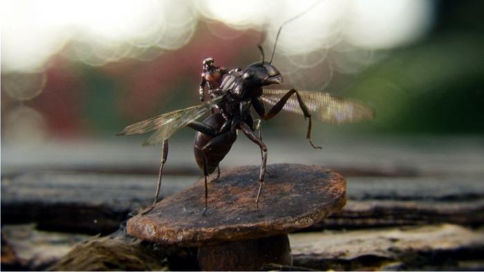 Escena de Ant-Man. Imagen: Marvel Studios.