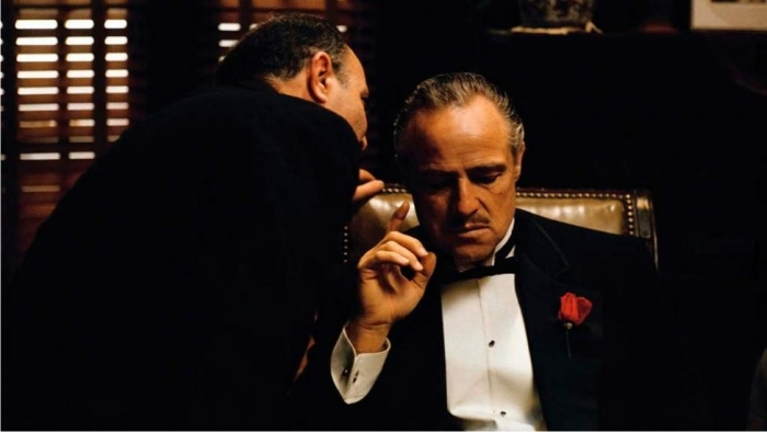 Escena de El Padrino. Imagen: Paramount Pictures.