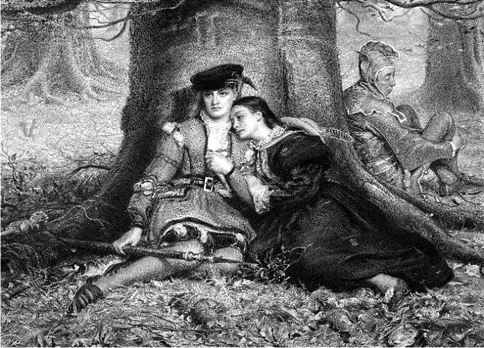 Ilustración de William Henry Simmons para Como gustéis. (DP)