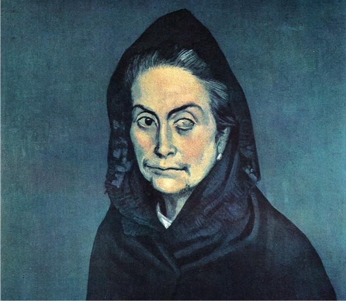 La Celestina pintada por Picasso (DP).