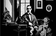 Lovecraft dibujado por Mike Mignola. Imagen: Dark Horse Comics.