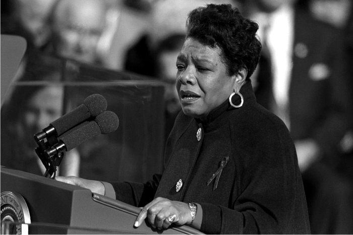 Maya Angelou: Foto Clinton Library (DP)