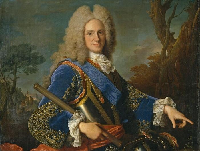 Retrato del rey Felipe V de España, por Jean Ranc (DP).