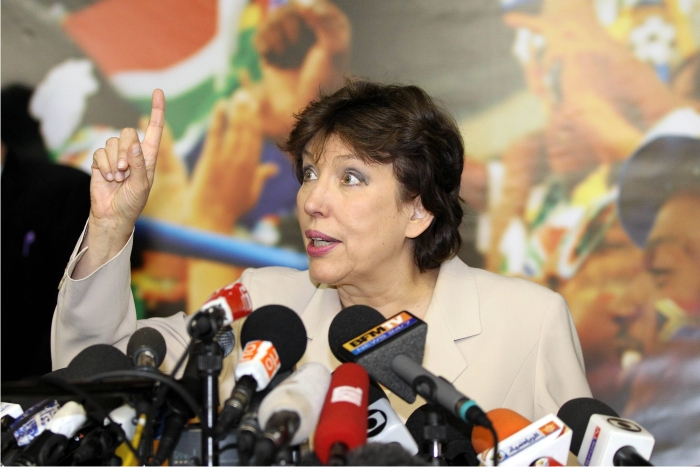Roselyne Bachelot. Foto: Cordon Press.