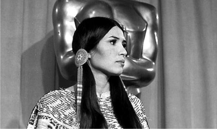 Sacheen Littlefeather. Foto: Corbis.
