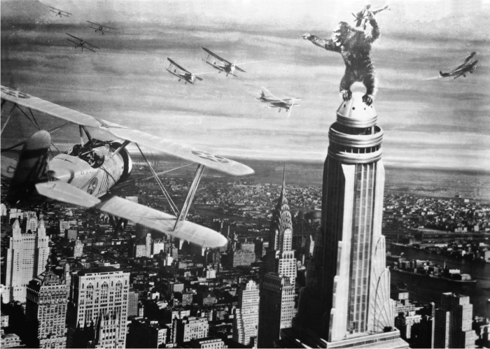 King Kong. Imagen: RKO Radio Pictures.