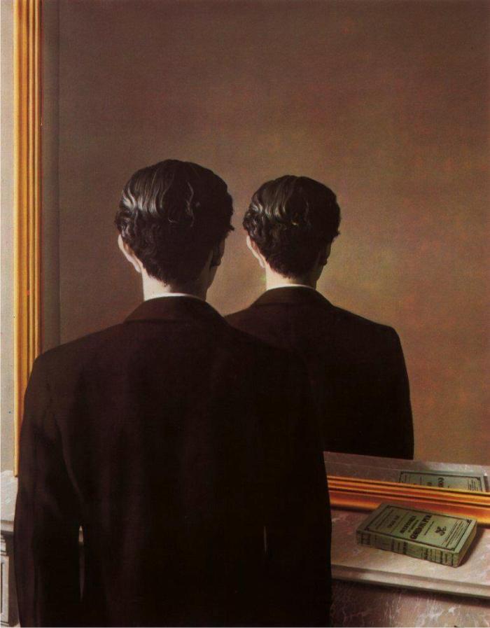 La reproduction interdite, de René Magritte.