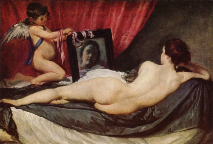 Venus del espejo, de Velázquez.