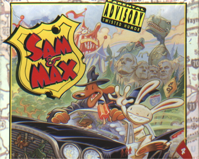 Sam & Max Hit the Road. Imagen: LucasArts.