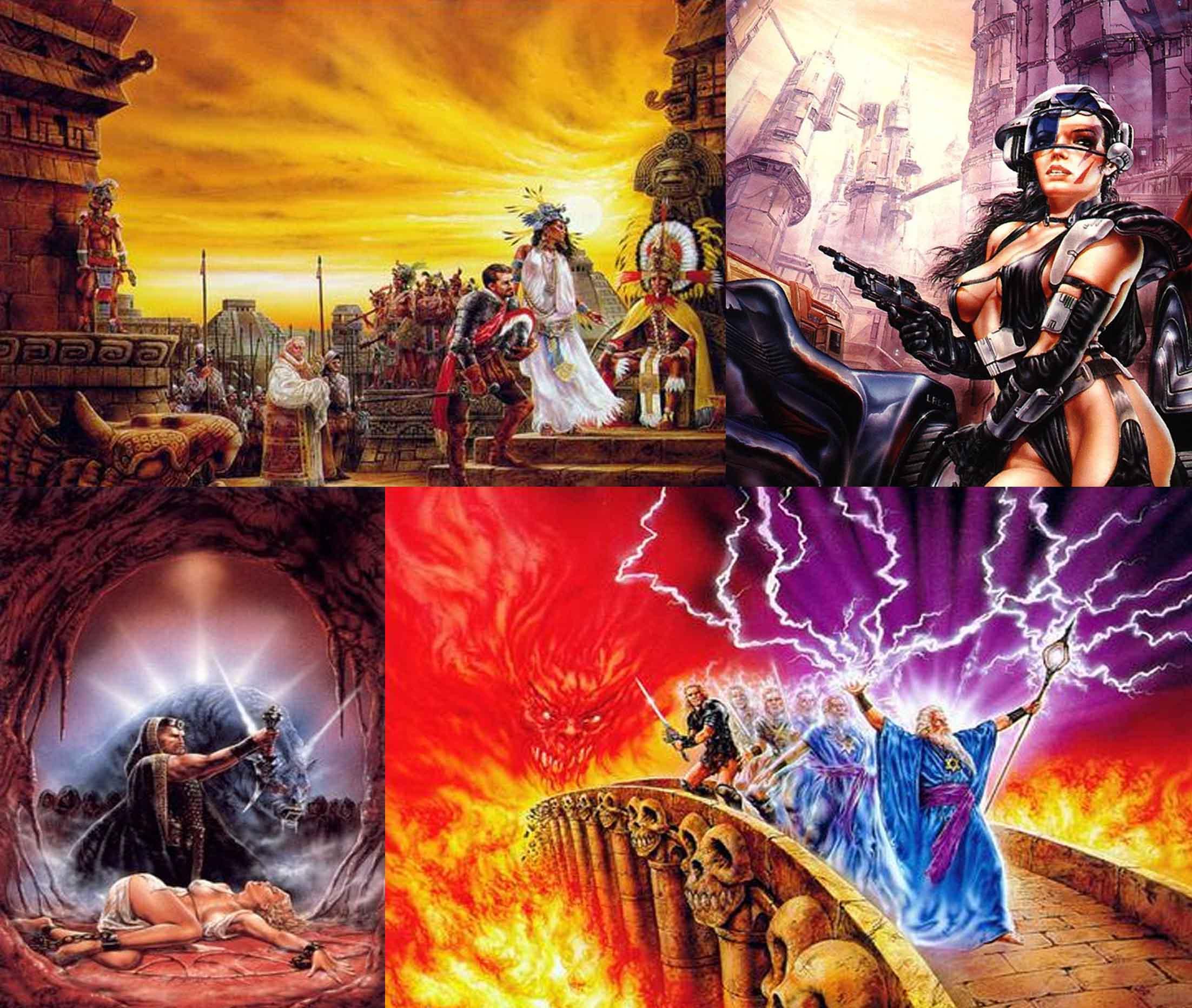 La diosa de Cozumel. La aventura espacial. Los templos sagrados. Satan.