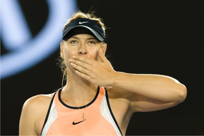 Maria Sharapova. Foto: Cordon Press.