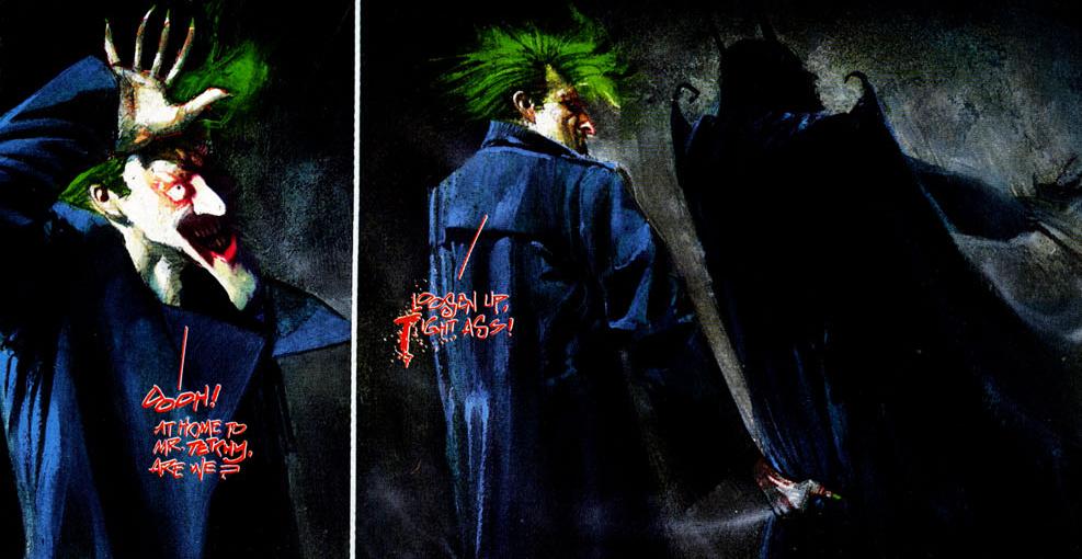 Arkham Asylum. Imagen: DC Comics.